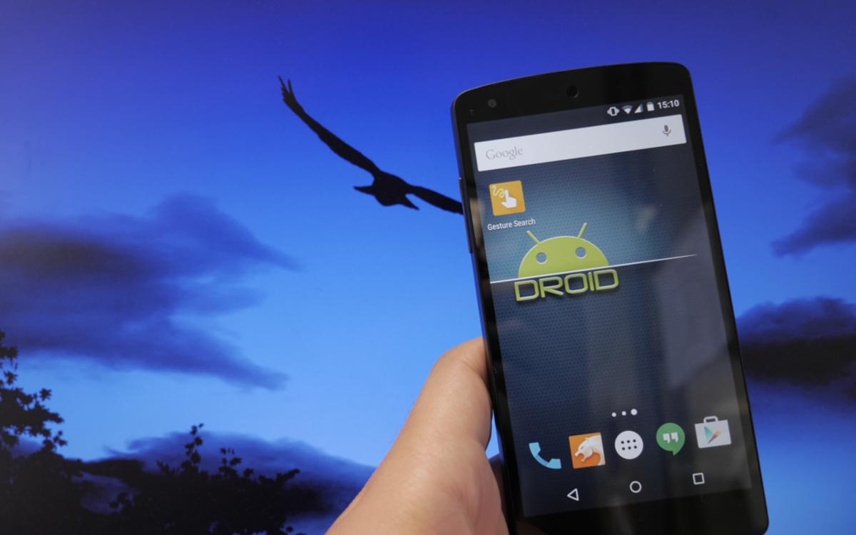 Installer Google Gesture Search pour un mobile plus ergonomique